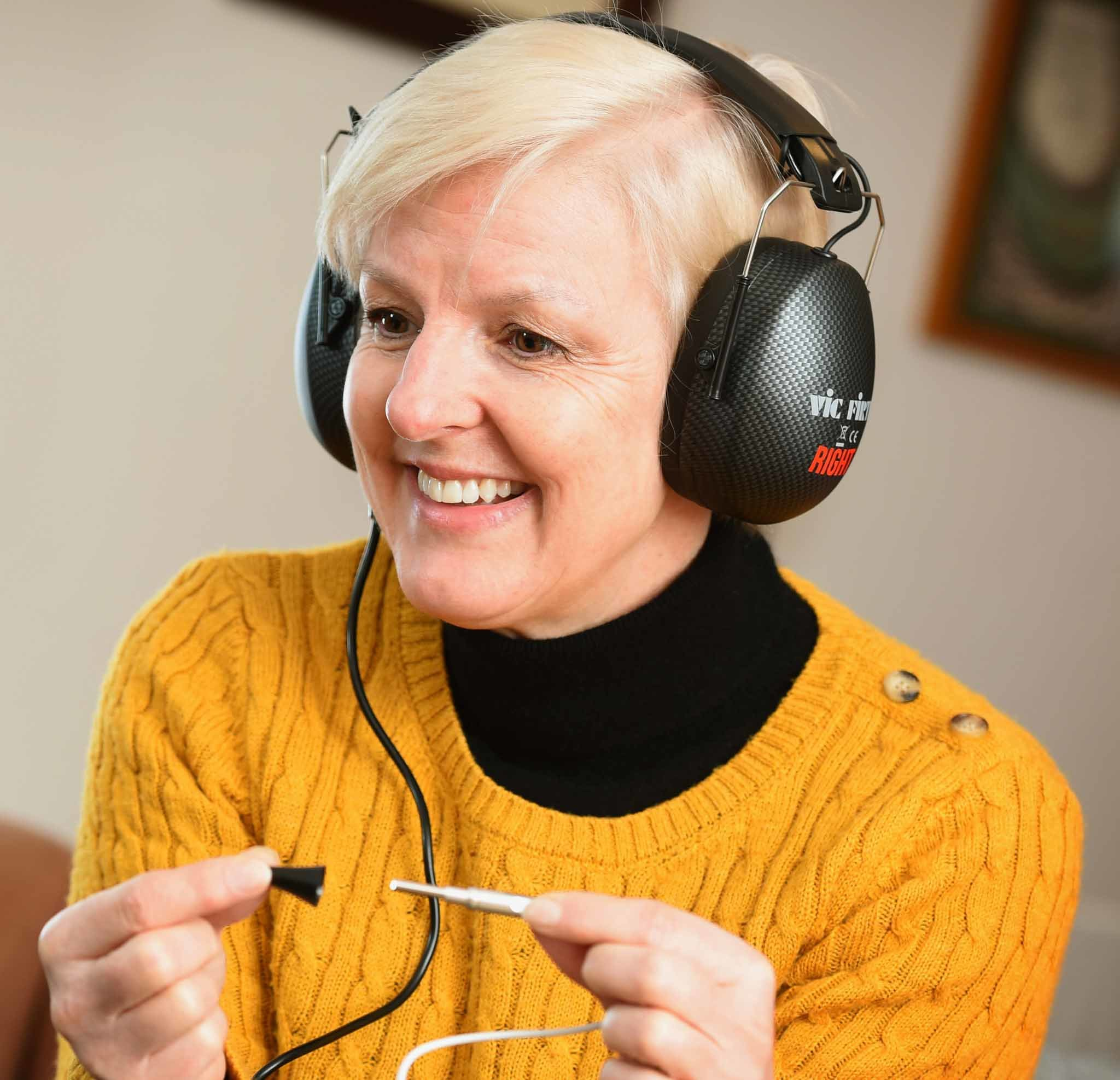 Using the Online Hearing Care home hearing test kit