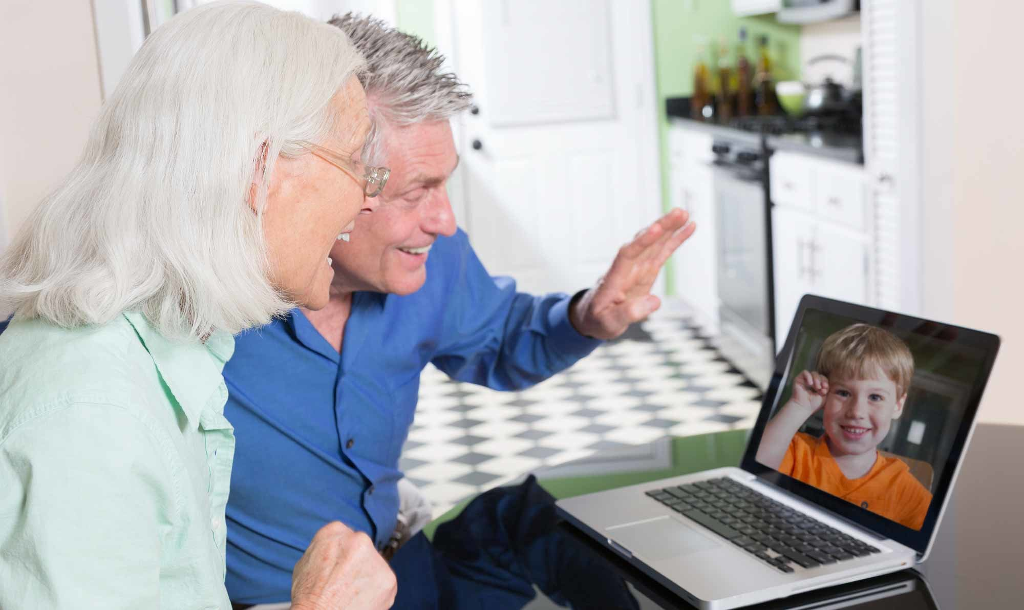 On a family call - time to get new hearing aids